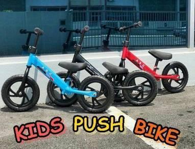 Kids Push Bike Balance Bike - red/blue-01