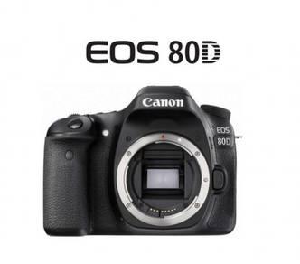 NEW Canon EOS 80D Body DSLR Camera