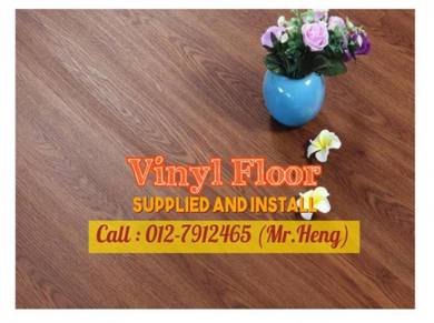 PVC Vinyl Floor - With Install 63BD