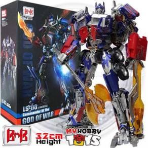 Black Mamba Transformers LS-03 God of War Optimus