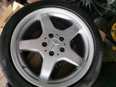 AMG 17 inch Mercedes Rims