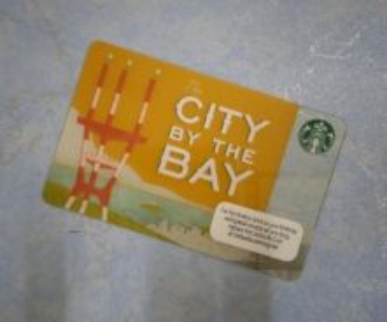 Starbucks City by the Bay Card (USA) 2012