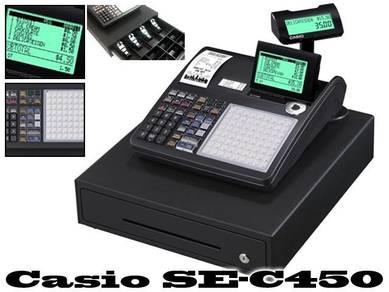 Mesin cashier casio se-c450 CASH REGISTERS
