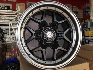 Sport Rim 4X4 RAXER XR10 Gloss Black Lip 4X4
