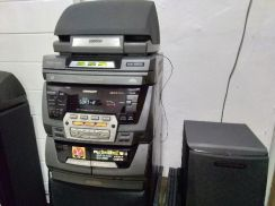 Sharp mini component system cd-c480h