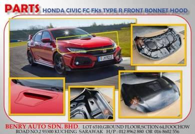 Honda Civic FC FK8 Type R Front Hood Bonnet
