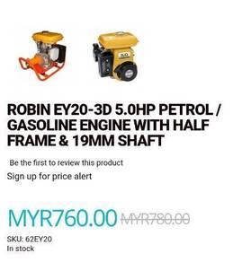 Robin 5.0 hp