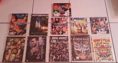 DVD Movie, WWE, Anime