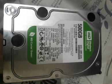 WD green 500 GB