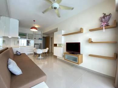 Fully furnished the peak sosho condominium likas kota kinabalu sabah