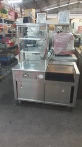 New burger stall 4ft forsale