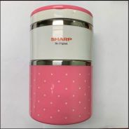 Food container in pink