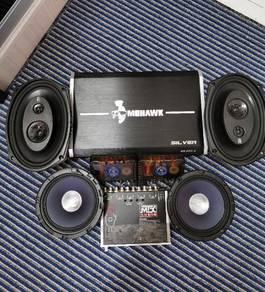 Speaker kereta complete