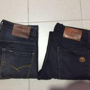 Seluar jeans original pipers n timberland