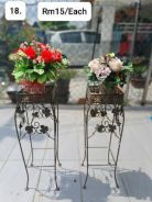 (18) Flower With Stand/ Bunga dengan Stand