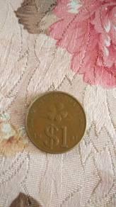 Duit lame RM1 tahun 1991