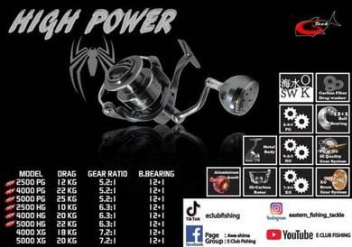 G-tech high power steel reel 4000hg/5000hg