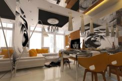 High-end Condo Interior design Furniture