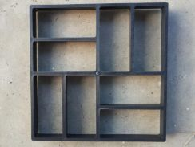 DIY Acuan Simen - Concrete Mold Basket Wave Design