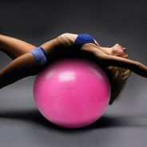 Mat Yoga ball Anti Burst 55 85cm gym fitness pump