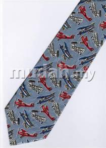 Vintage Glider AeroPlane Airplane Cartoon Neck Tie