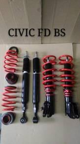 Fgk adj absorber hi low bodyshift civic FD