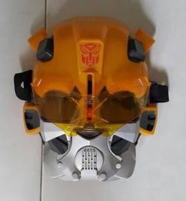 Original Transformer bumblebee mask children toy