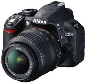 Nikon D3100 with Tamron 18-200mm