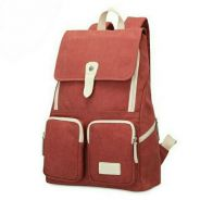 Canvas Casual Style Travel Backpack. BML000001