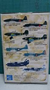 Sets of WWII Jet Plane