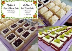 Ogura Cheese Cake & Red Velvet