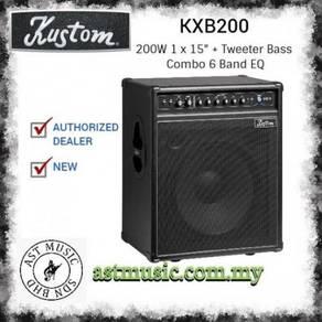Kustom Kxb200 kxb200 200W Bass Combo Amplifier