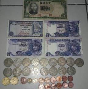 Malaysia old moneys