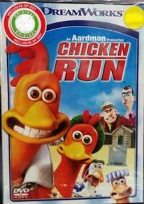 DVD Chicken Run Anime
