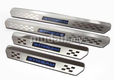HONDA STREAM 00 - 06 LED Door Side Sill Step Plate