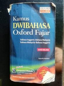 Kamus Dwibahasa edisi KELIMA