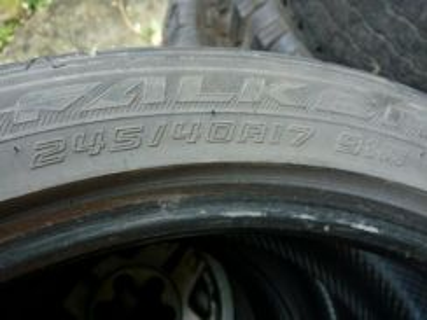 17 Inch Falken Tyre