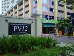PV12 Condo (Near Setapak Central Mall) - Master Bedroom with Bathroom