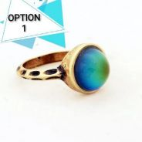 Color changing vintage ring. cincin berubah warna.
