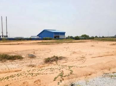 Industrial land big lot Serkam good Infrastructure