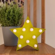 Lampu hiasan / led star light 12