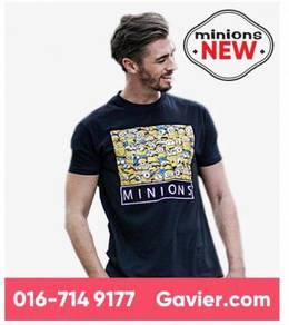 Baju Minions Black Shirt *Free Shipping
