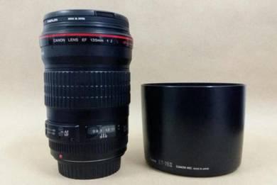 Canon EF 135mm f2L USM