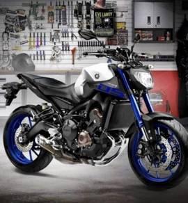 Yamaha mt-09 - cash back till MAR end 2018