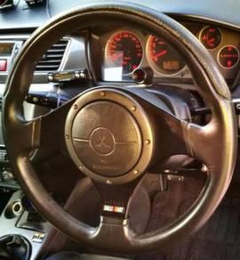 Evo 9 MR RalliArt Momo Srs Steering Wheel Matte