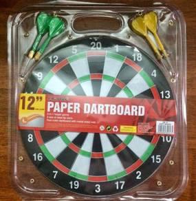 Paper Dartboard 12