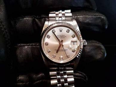 PREOWNED ROLEX Datejust 31, 78274 White Rolesor,