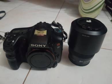 Sony a77 slt Dslr