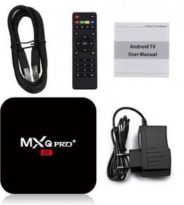 (LATEST) Mx 4k Android tv decoder box iptv