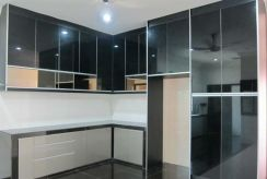 Kitchen cabinet, dapur kabinet, selasih, setia,